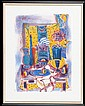 Leon Morrocco (b.1942) The Kitchen Table 1985 Lithograph ed.14/40