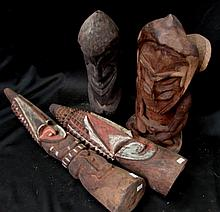 A Collection of PNG and Vanuatu Carvings (4)