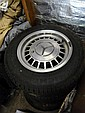 A set of four Mercedes Benz alloy wheels stamped CSA WIA 65JJ X 15 15P