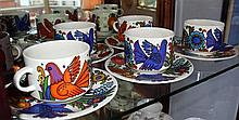 A set of six Villeroy & Boch