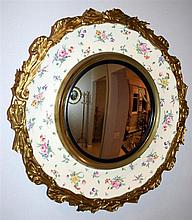 A Clarice Cliff Olde Bristol by Royal Staffordshire mirror. 49cm