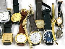 A Collection of Men's and Ladies watches