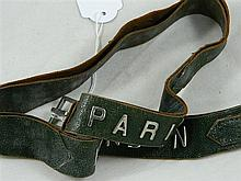 A Lady's leather belt