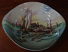 A Royal Doulton 'Home Waters' bowl