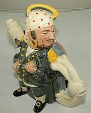 A Royal Doulton 'Pirate & Captain teapot