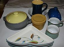 A quantity of Denby ceramics