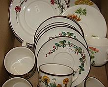 A quantity of Villeroy and Boch cups and saucers