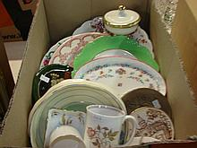 A quantity of ceramics to include Minton , Susie Cooper, Royal Doulton etc.