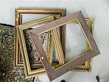4 Various empty frames