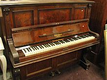 An Australian upright piano made by Beale, Sydney