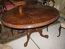 An antique Victorian Louis table