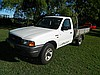 A 2000 Ford Courier GL 2.5L diesel ute TO BE AUCTIONED AT 11AM