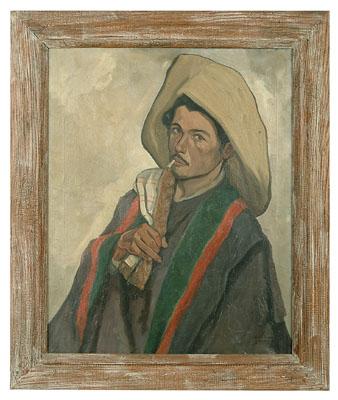 Mario Marel Agostinelli painting