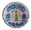 Adam and Eve Delft Charger