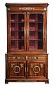 Empire Style Figured Mahogany and