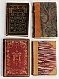 Twenty-Five Leather-Bound Books