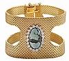 18 Kt. Flexible Cuff Bracelet