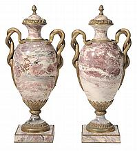Pair Louis XV Style Bronze-Mounted