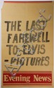 [Presley, E.]. Four newspaper announcement posters