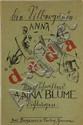 Schwitters, K. Anna Blume. Dichtungen. Hannover,