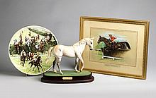 A Royal Doulton model of Desert Orchid sculpted by Warren Platt, circa 1994,