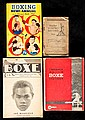 Frank Duffett's extensive collection of boxing