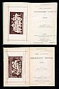 2 volumes of James Lillywhite's Cricketers'