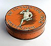 A Bottomley's toffee tin commemorating the