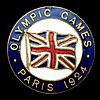 A Paris 1924 Olympic Games Great Britain team