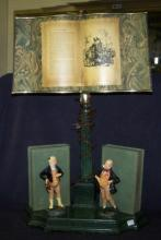 *ROYAL DOULTON STYLE FIGURAL TABLE LAMP