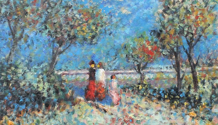 JOSEPH KADAR PARIS PAINTING