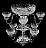 ENGLISH VICTORIAN SILVERPLATE EPERGNE