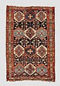 ANTIQUE CAUCASIAN NW PERSIAN WOOL RUG 4'5