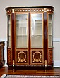 LARGE INLAID ORMOLU CABINET