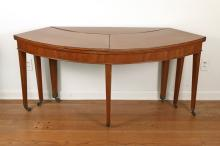 GEORGE III  MAHOGANY DRINK TABLE