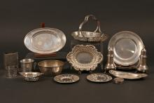(18pc) GORHAM STERLING SILVER HOLLOWARE