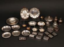 MISC. LOT OF STERLING SILVER TABLEWARE