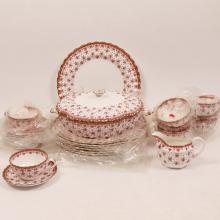 (26pc) PARTIAL SPODE CHINA SERVICE