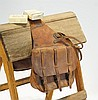 Antique US Cavalry saddlebags w/ Snake bite Kit