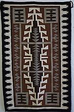 Navajo brown, black, white & gray