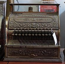 National antique cash register #64
