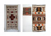 Two Navajo Blankets plus weaving