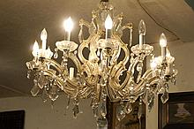 Crystal chandelier -12 light