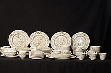 Royal Daulton china set - app 91 pcs.