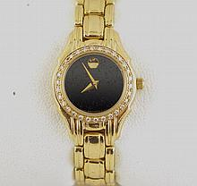 14kt Gold & Diamond Movado wristwatch