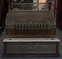 National antique cash register model 333