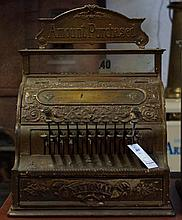 National Antique cash register model # 58