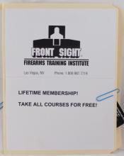 Front Sight life time membership
