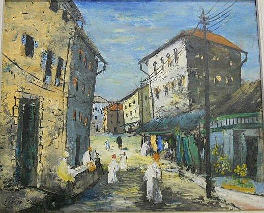 ENSLIN, George, (1919 - 1972) born Richmond,