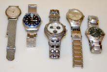 Collection wristwatches -Gruen, Benrus +